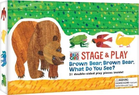 Brown Bear What Do You See, pièces de théâtre d'Eric Carle