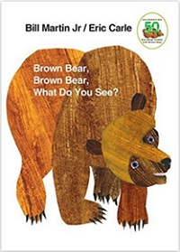 Album en anglais Brow Bear What Do You See