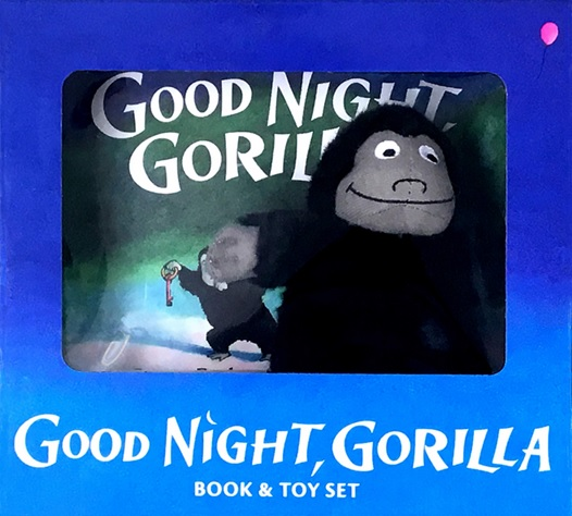 Good Night Gorilla de Peggy Rathmann, livre et peluche