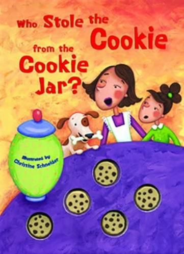Who Stole the Cookie from the Cookie Jar, histoire illustrée de la comptine