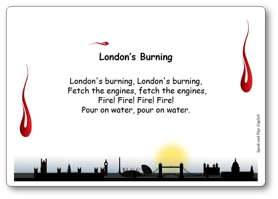 chanson traditionnelle anglaise London's Burning