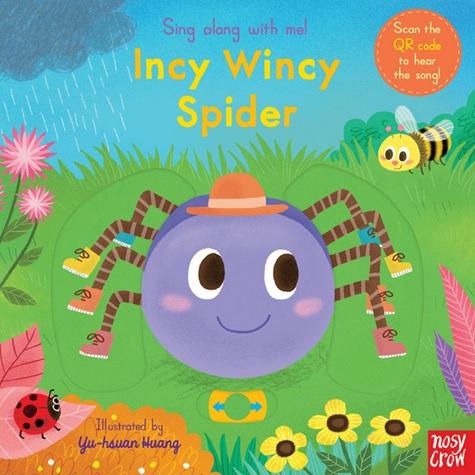 Incy Wincy Spider, comptine illustrée par Yu Hsuan Huang