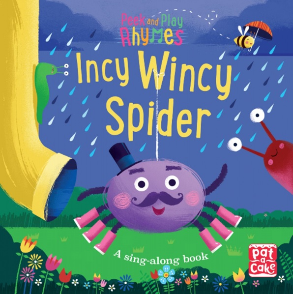 Incy Wincy Spider, livre à chanter de Pat a Cake et Richard Merritt