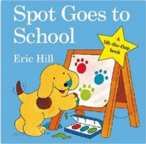 Lien vers l'exploitation de l'album Spot Goes to School d'Eric Hill