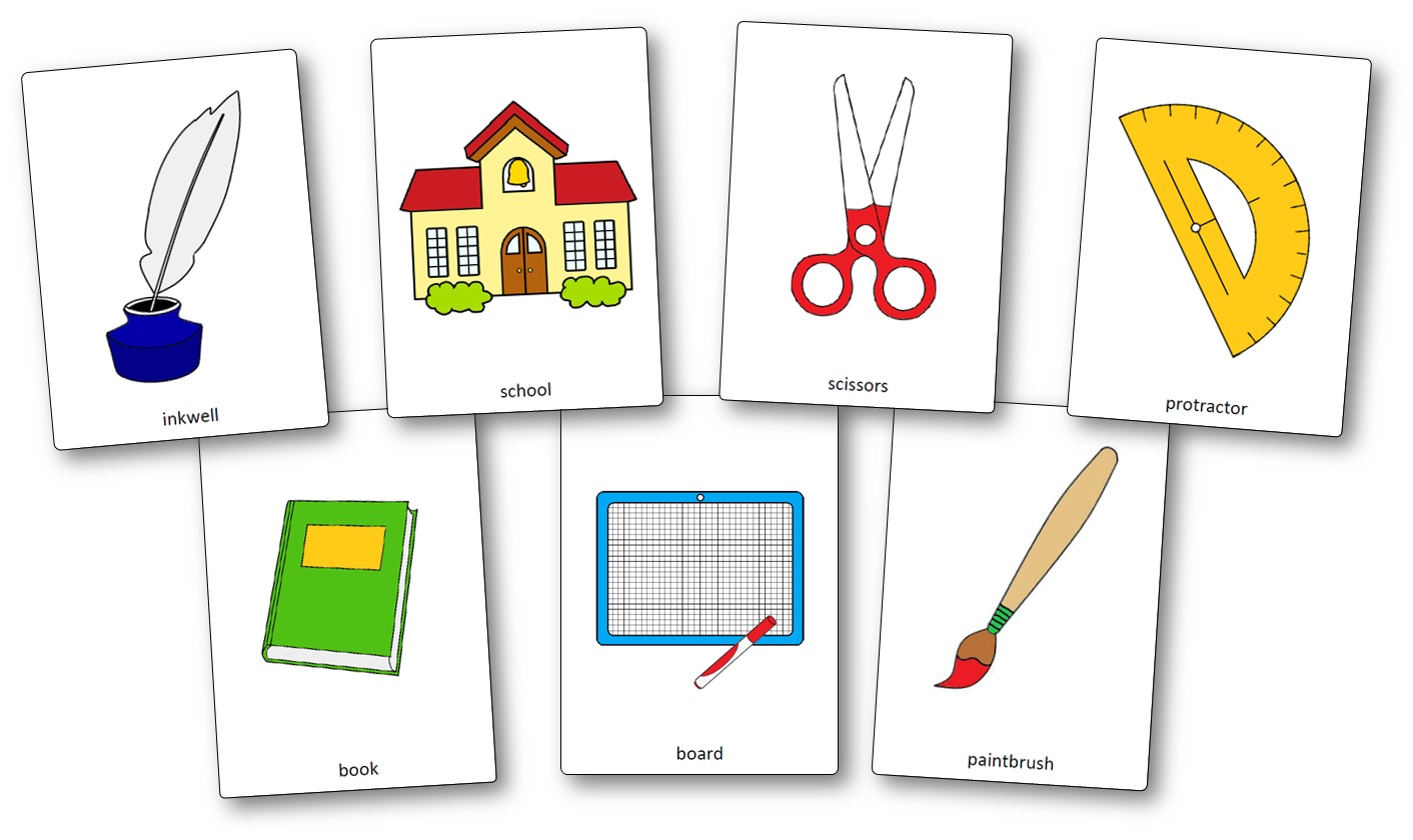 fournitures scolaires en anglais