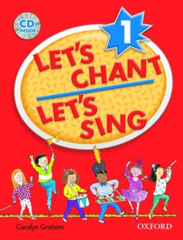 Let's chant Let's Sing, Livre et CD audio de Carolyn Graham