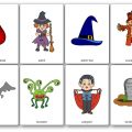 Flashcards Halloween CP, CE1, CE2, CM1, CM2