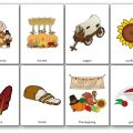 Flashcards de Thanksgiving