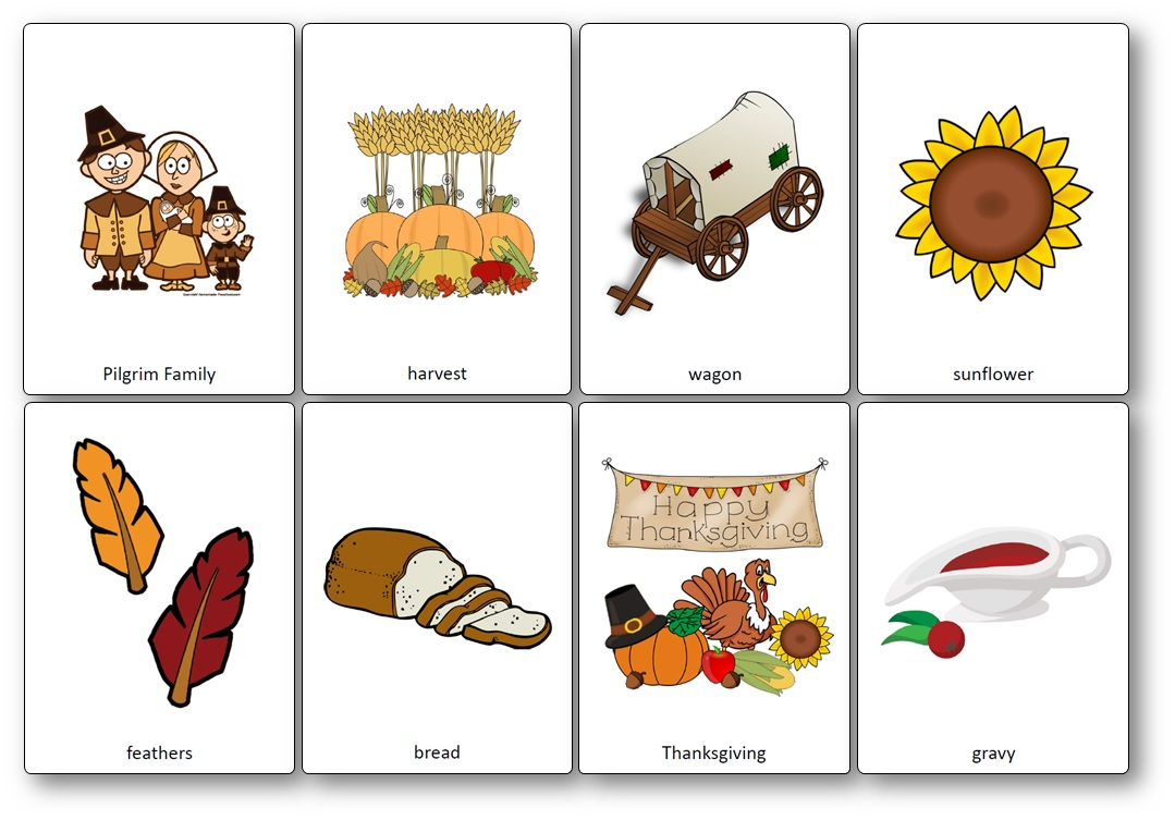 Flashcards Thanksgiving Cycle 3