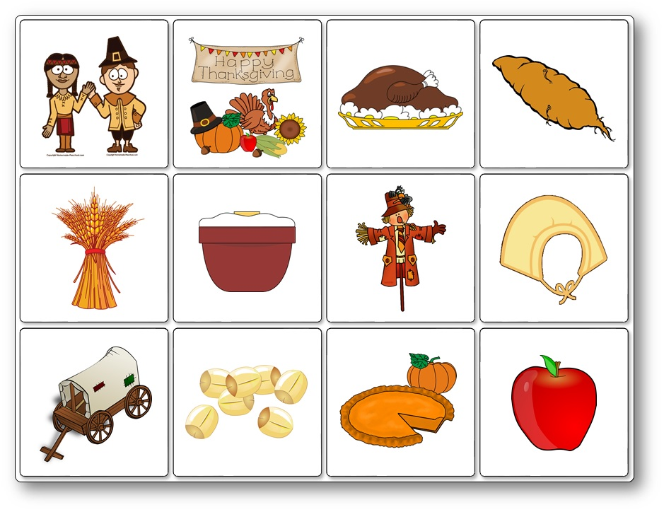 jeu thanksgiving anglais