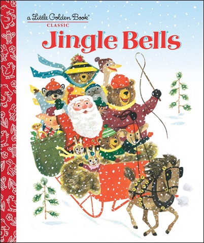 Jingle Bells, extrait de Little Golden Book de Kathleen Daly