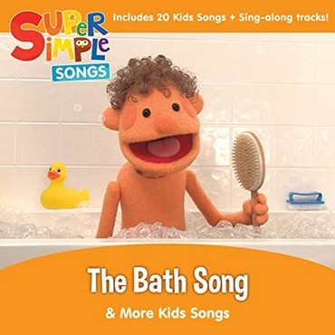 Super Simple Songs, album en anglais The Bath Song and more Kids Songs