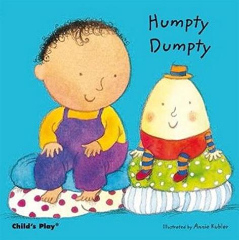 Humpty Dumpty, Comptine illustrée par Annie Kubler