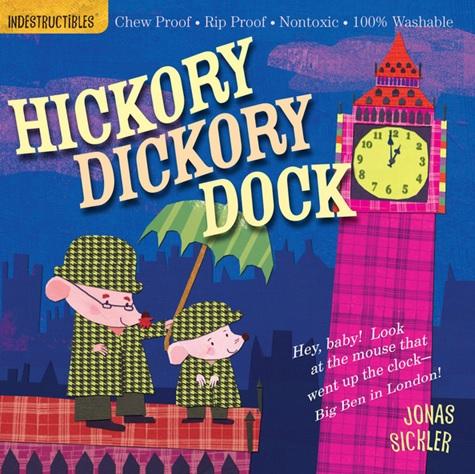 Hickory Dickory Dock, comptine illustrée par Jonas Sickler