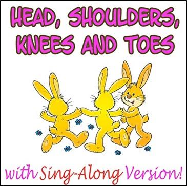 Head, Shoulders, Knees and Toes, comptine sur les parties du corps en anglais