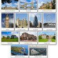 Flashcards des monumentts célèbres de Londres et de l'Angleterre