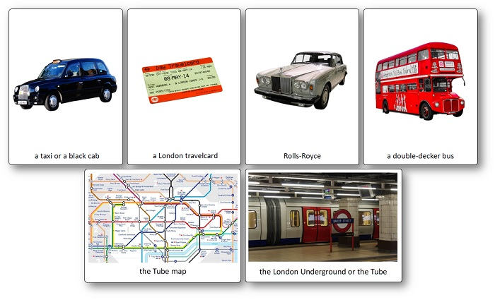 Images Royaume-Uni Symboles Transport