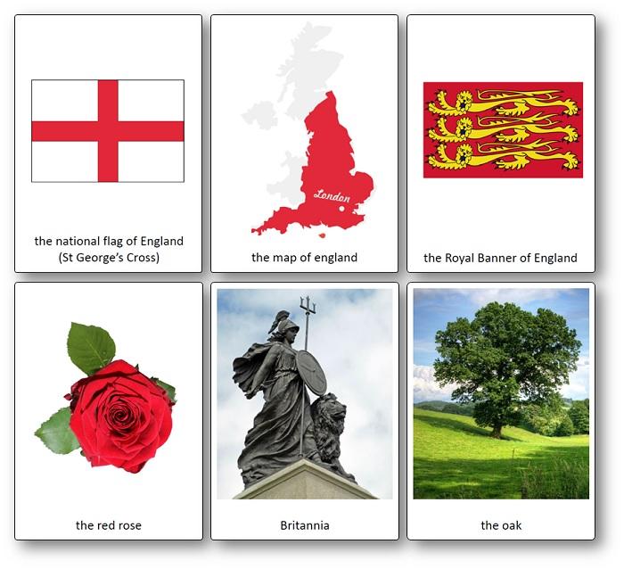 Images Symboles Angleterre a imprimer