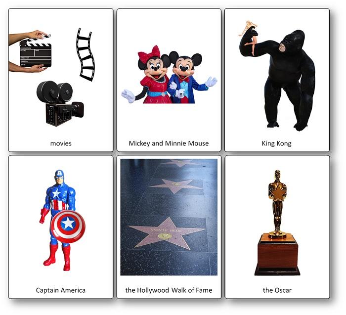 Flashcards sur l'industrie cinématographique américaine