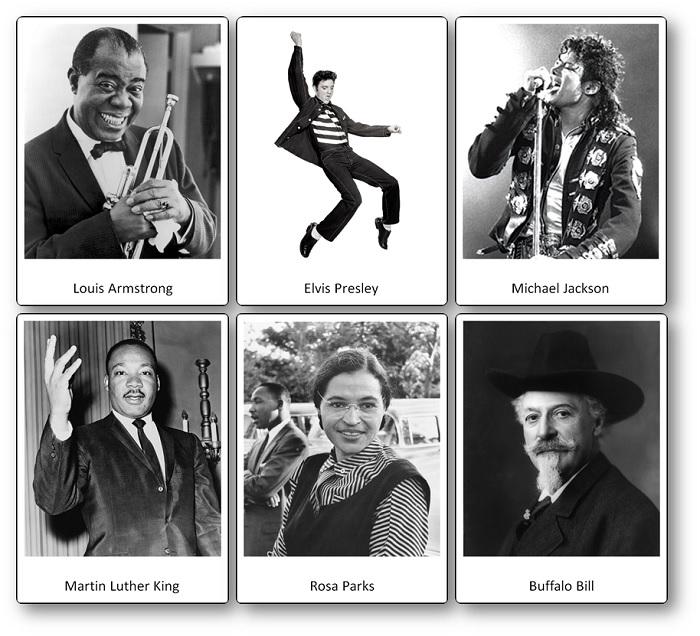 Flashcards des célébrités américaines