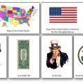 Imagier des symboles americains