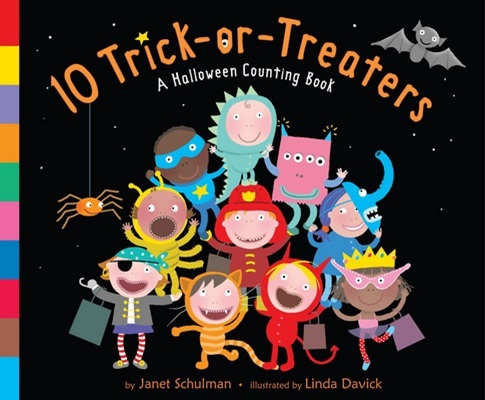 10 Trick or Treaters de Janet Schulman