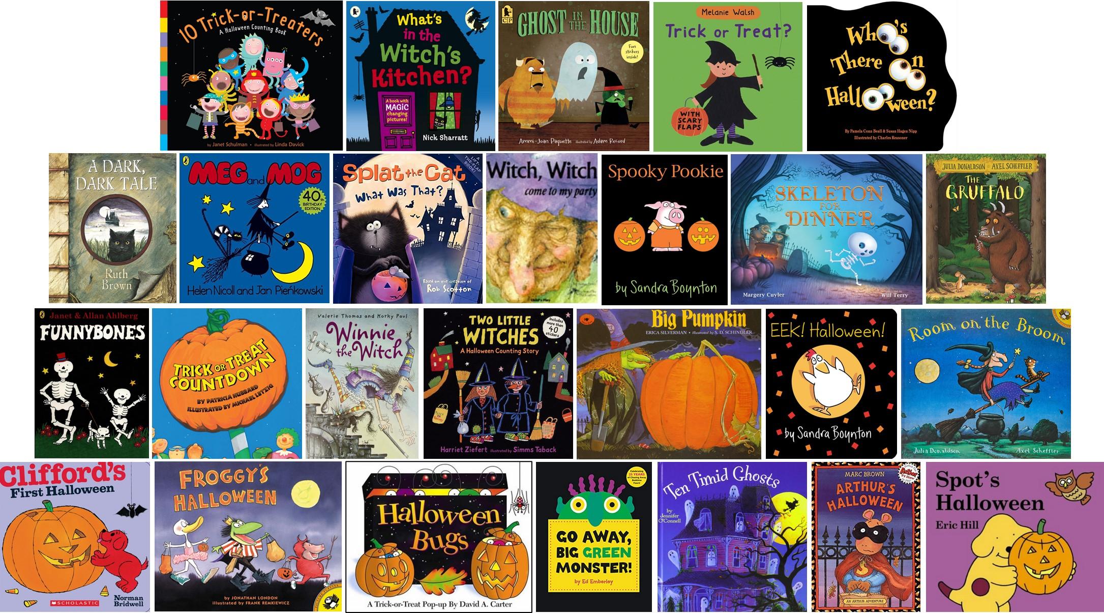 Albums de littérature jeunesse en anglais pour Halloween