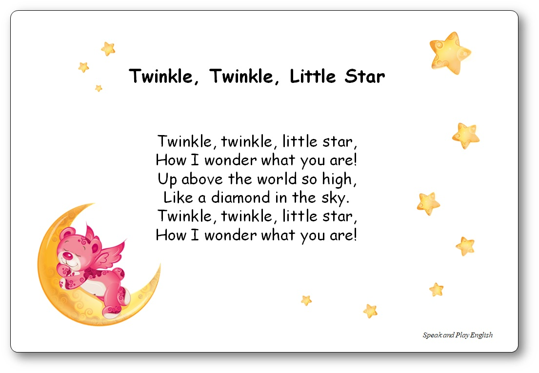traduction Paroles de la chanson Twinkle, Twinkle, Little Star en français
