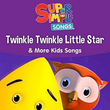 Comptine Twinkle, Twinkle Little Star de Super Simple Songs