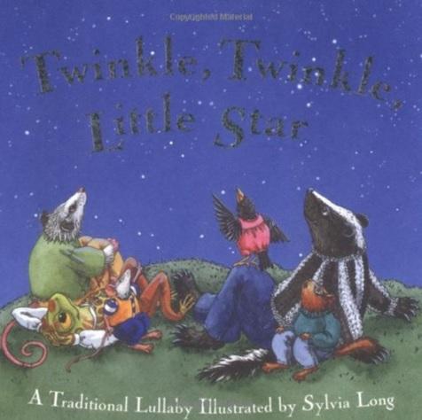 Twinkle, Twinkle Little Star, album de la comptine illustrée par Sylvia Long