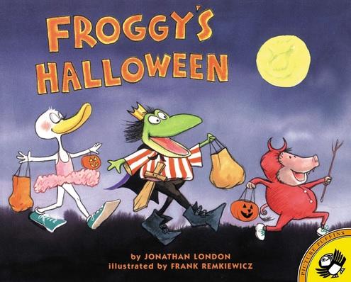 Froggy's Halloween de Jonathan London et Frank Remkiewicz