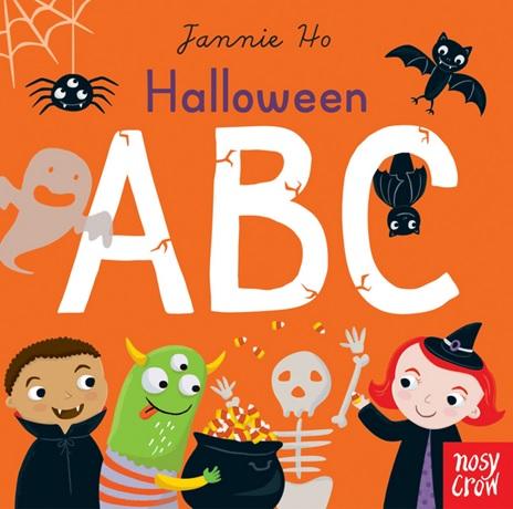 Halloween ABC de Jannie Ho - Abécédaire en anglais
