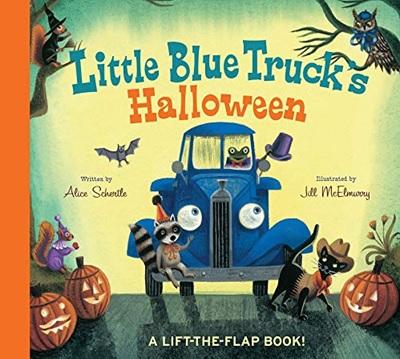 Little Blue Truck's Halloween d'Alice Schertle - Un livre d'Halloween en anglais