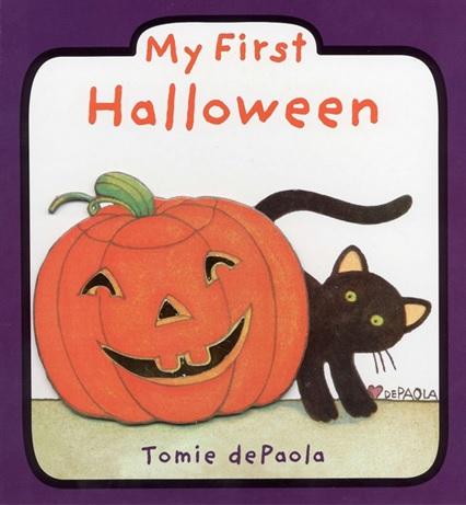 My First Halloween de Tomie dePaola - Livre anglais Halloween maternelle