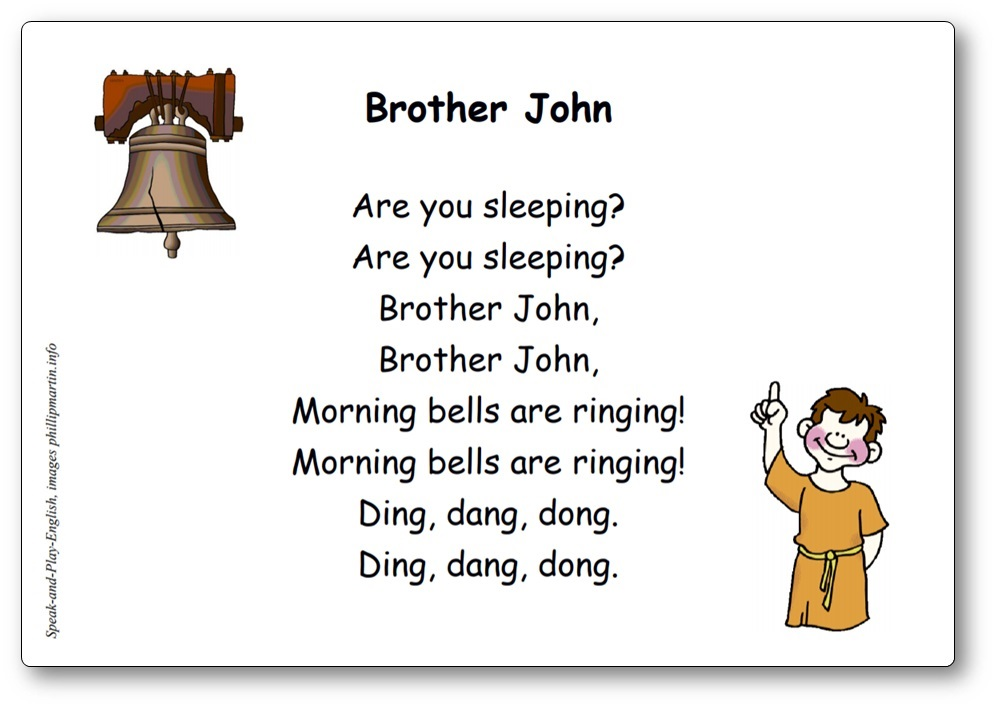 Brother John Comptine en anglais