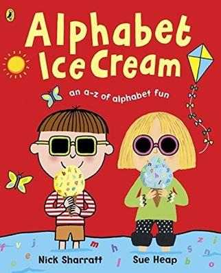 Alphabet Ice Cream , un album de Nick Sharratt et Sue Heap