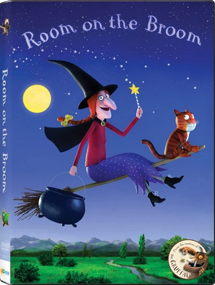 DVD de l'album Room on the Broom de Julia Donaldson