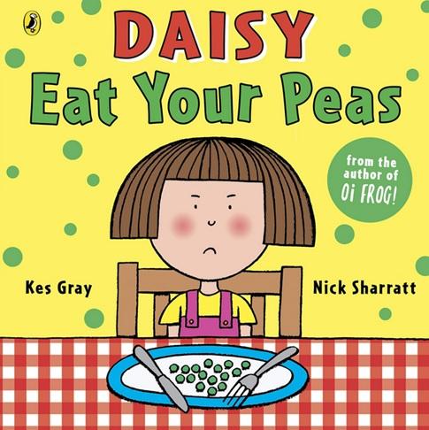 Daisy Eat Your Peas, un album de Kes Gray et Nick Sharratt, albums nourriture anglais