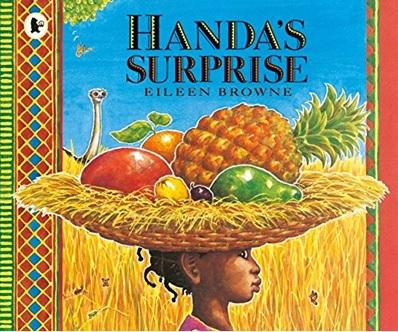 Handa's Surprise, un album d'Eileen Browne, albums nourriture anglais