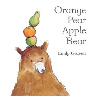 Orange Pear Apple Bear, un album d'Emily Gravett