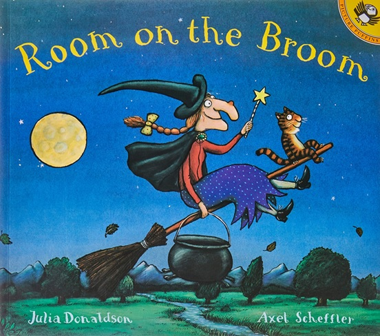 Room on the Broom de Julia Donaldson, album pour Halloween Cycle 2 et cycle 3 exploitation