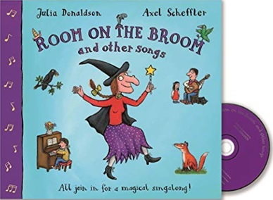 Room on the Broom et autres chansons de Julia Donaldson