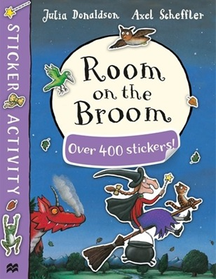 Room on the Broom plus de 400 stickers de Julia Donaldson