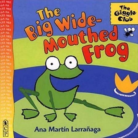 The Big Wide-Mouthed Frog, un album d'Ana Martin Larranaga