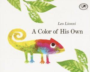 A Color of His Own de Leo Lionni couleurs anglais