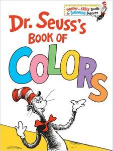 Dr Seuss's Book of Colors, Edition en anglais