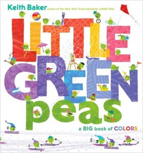 Little Green Peas de Keith Baker