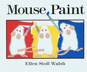 Mouse Paint d'Ellen Stoll Walsh Album pour apprendre les couleurs en anglais